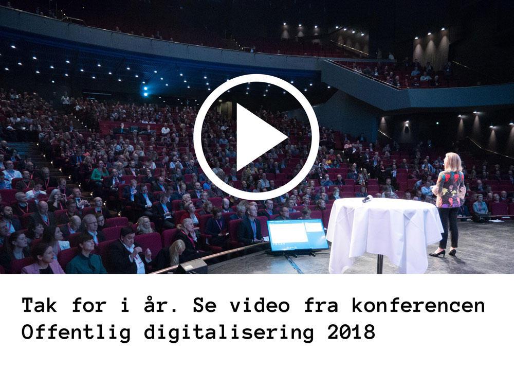 Offentlig digitalisering 2018 video