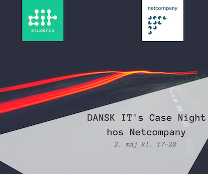 DANSK IT Students holder Case Night hos Netcompany
